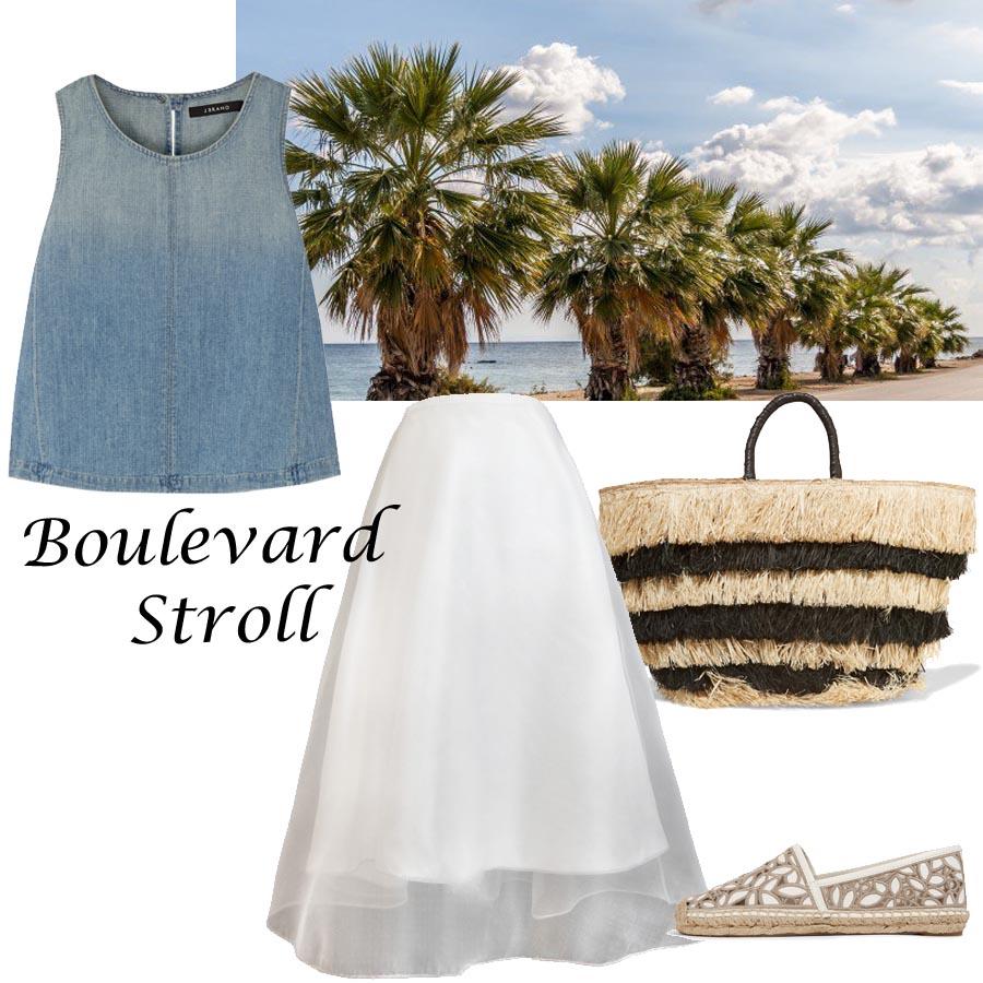boulevard stroll