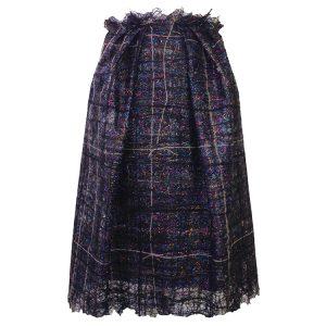 Visara Skirt short dark_web